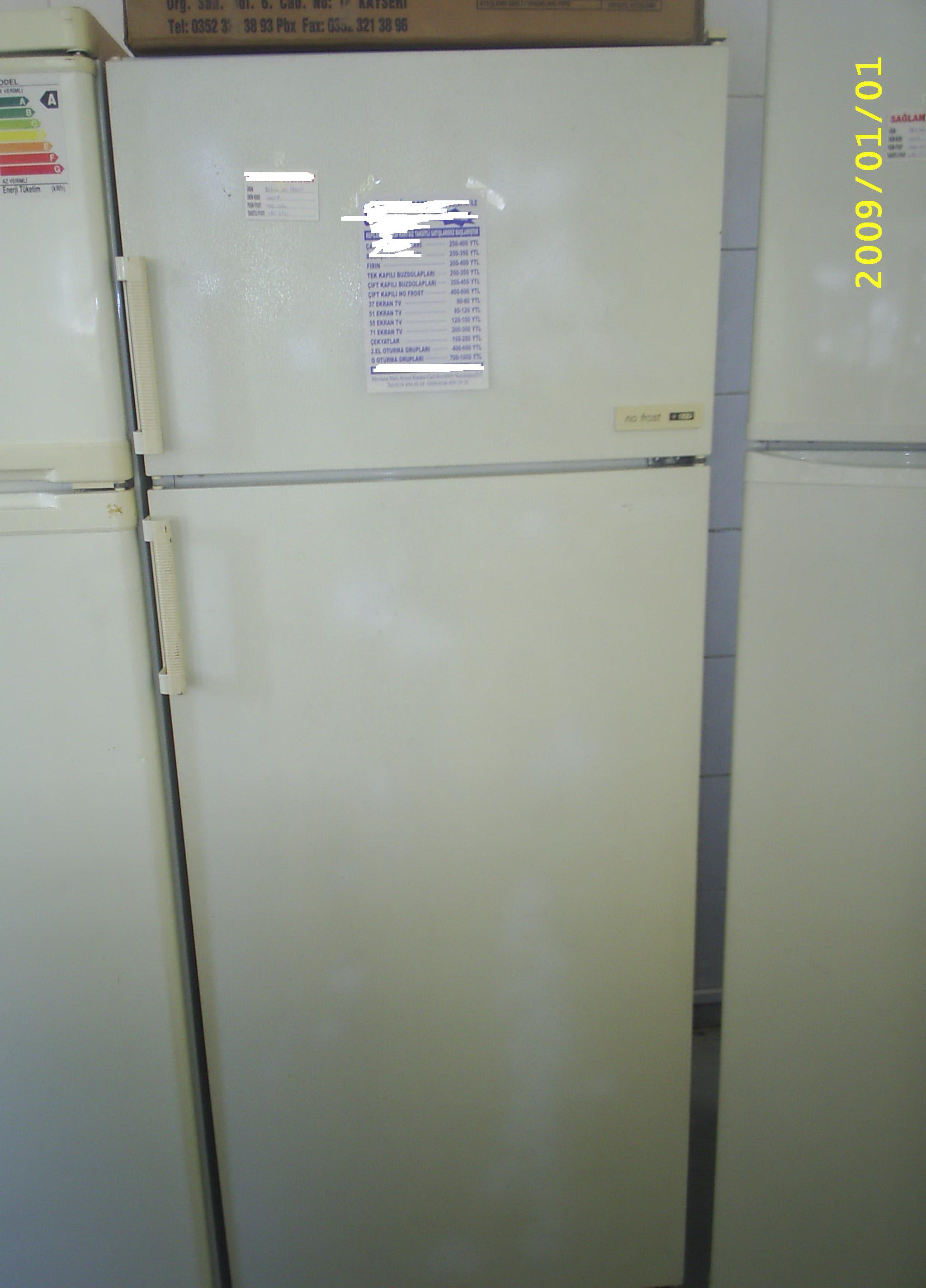 Sorun yok, ver parasını al kullan sağlam buzdolabı