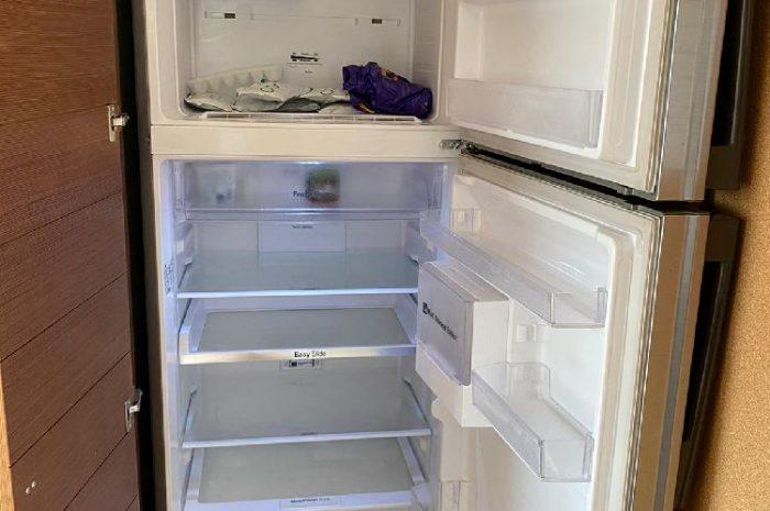 Samsung 2 katlı nofrost A+ buzdolabı az kullanılmış