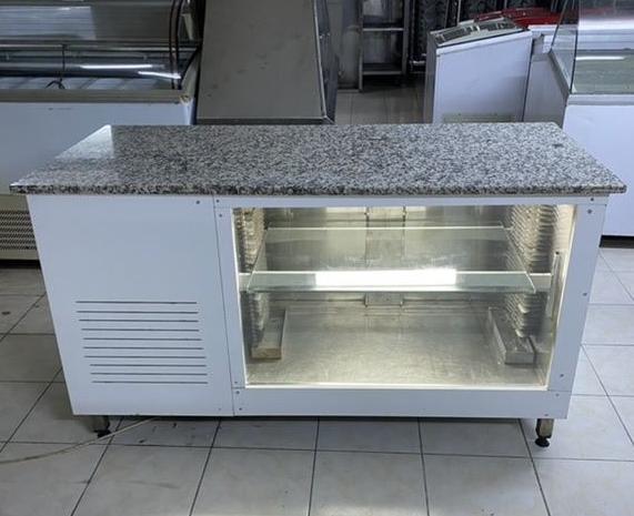 market büfe lokanta iş yerleri için üstü mermer tezgah altı buzdolabı