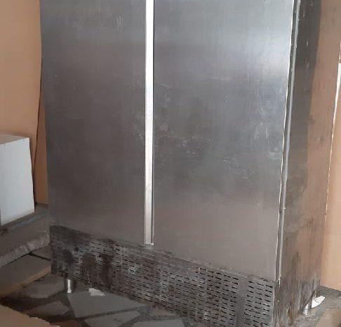 2.el endüstriyel dik model, 2 tam kapılı sanayi tipi buzdolabı