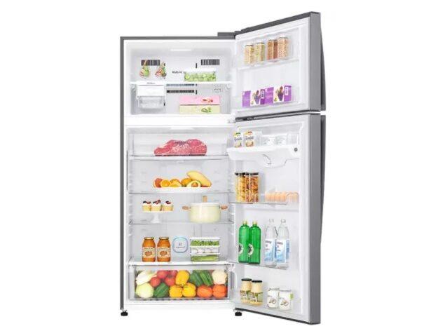Spot LG LG GN-H702HLHU 546 Lt No Frost Buzdolabı Gri Renk