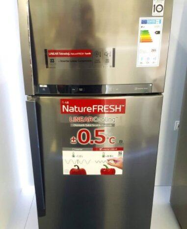 Temiz durumda inoks A+++ lg buzdolabı